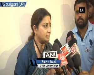 Congress looted money of taxpayers Smriti Irani on IT raids at properties of Kamal Naths close aides [Video]