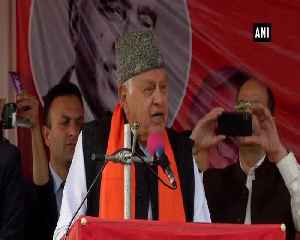 RSS BJP killed Mahatma Gandhi Farooq Abdullah [Video]