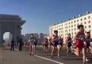 Large Increase in Foreign Runners for Pyongyang Marathon [Video]