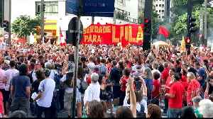 Thousands rally in Brazil to demand ex-president Lula's release [Video]