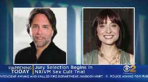 Jury Selection Today In NXIVM Sex Cult Trial [Video]