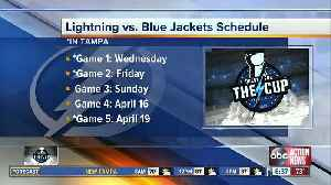 'Best time of the year:' NHL playoff matchups set, when you can cheer on the Lightning [Video]