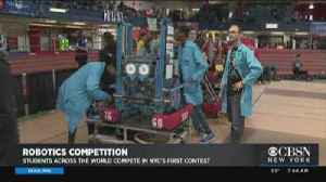Robotics Competition Draws Students From Around The World [Video]