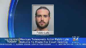 Telenovela Star Back In Miami Court Over Deadly Road Incident [Video]