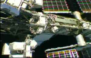 Astronauts embark on six and a half hour spacewalk [Video]