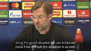 Jurgen Klopp: This team never gives up [Video]