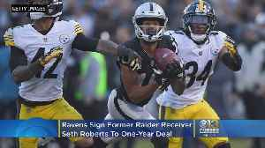 Ravens, Former Raiders Wide Receiver Seth Roberts, Agree To One-Year Deal [Video]