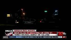 One man killed a woman injured in Monday morning shooting [Video]