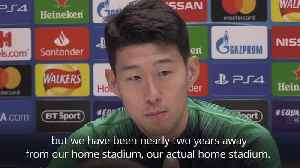 News video: Son says City players don't appreciate Spurs stadium delay