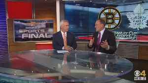 Sports Final: Bob Beers Previews Bruins-Maple Leafs Playoff Series [Video]