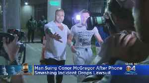 Lawsuit 'Resolved' Against MMA Star Conor McGregor In Miami Phone-Smashing Incident [Video]