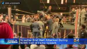 Fan Takes Down Wrestling Legend During WWE Hall of Fame 2019 Speech [Video]