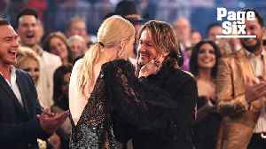 Watch Nicole Kidman and Keith Urban's epic smooch at the ACMs [Video]