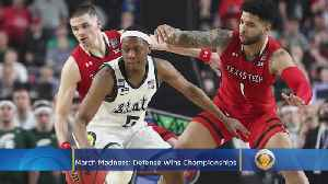 Tournament Buzz: Defense Wins Championships [Video]