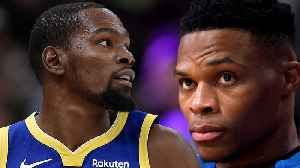 NBA Player Vote REVEALS Russel Westbrook Is OVERRATED & Kevin Durant Is Headed to New York! [Video]