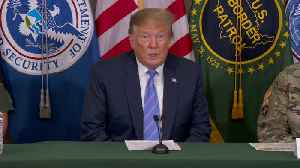 News video: Trump Says America Is 'Full' While at the U.S.-Mexico Border