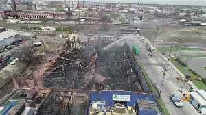 Investigators Still Searching For Cause Of Large Port Richmond Warehouse Fire [Video]