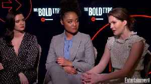 The Cast of 'The Bold Type' Tease What's to Come in Season 3 [Video]