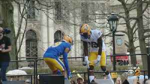 'This Is The Look': Pitt Panthers Unveil New Royal Blue And Yellow Look [Video]