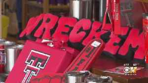 North Texas Red Raiders Fans Getting Suited Up For Championship Game [Video]