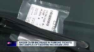 64% more parking violations issued at Eastern Michigan University after new vendor hired [Video]
