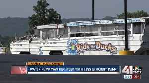 Pump removed before Branson duck boat tragedy [Video]