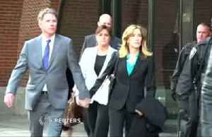 Felicity Huffman pleads guilty in college scandal [Video]
