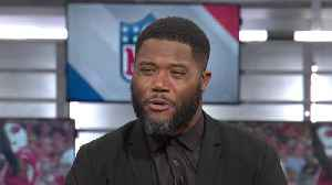 NFL Network's Michael Robinson questions 'the purpose' of Oakland Raiders wide receiver Antonio Brown calling out Pittsburgh Ste [Video]