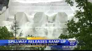 Oroville spillway increases water releases [Video]