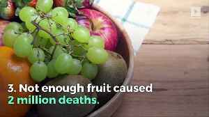 These 3 Diets Cause 11 Million Deaths Every Year [Video]