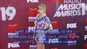 Taylor Swift Donates $113,000 to Fighting Anti-LGBTQ Laws [Video]