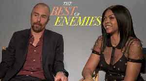 Taraji P. Henson and Sam Rockwell on 'The Best of Enemies' and Civil Rights History [Video]