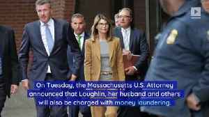 Lori Loughlin Now Faces Money Laundering Charges in College Bribe Scandal [Video]
