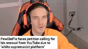 PewDiePie FIRES BACK At Petition Trying To SHUT DOWN His Youtube Channel! [Video]