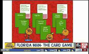'Florida Man: The Card Game' is about to put a ridiculous spin on game night [Video]