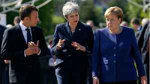 Theresa May Headed To France After Urging Germany To Assist On Brexit Impasse [Video]