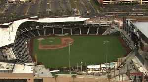Chopper 13 view of the Las Vegas Ballpark before home opener [Video]