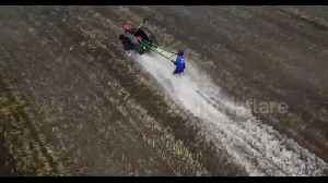 Thai farmers compete in high octane plough racing championships [Video]