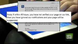 Facebook Copyright Violation Message [Video]