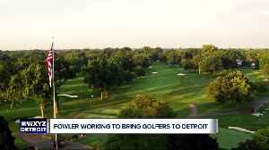 SPORTS     Rickie Fowler says he's 'excited' to come to Detroit for PGA Tour stop in June [Video]