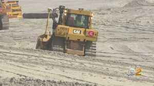New Jersey Beaches Make In Shape After Superstorm Sandy Damage [Video]