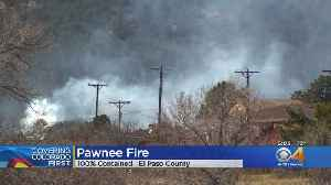 El Paso County Firefighters Contain 'Pawnee Fire' [Video]
