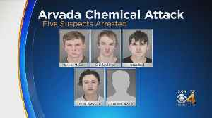 Police Name Suspects In Chemical Device Attack On Officer, Bystander [Video]