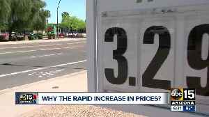 Getting to the bottom of rapidly rising gas prices around the Valley [Video]