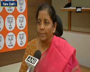 Congress should spend some time reading BJPs manifesto and then talk Nirmala Sitharaman [Video]