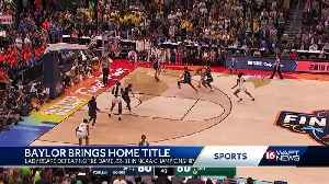 Baylor brings home title [Video]