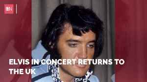Elvis Is Back In Concert [Video]