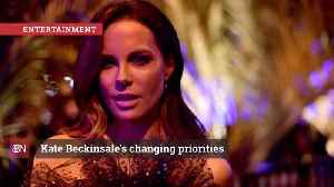 Kate Beckinsale Is Changing Priorities [Video]