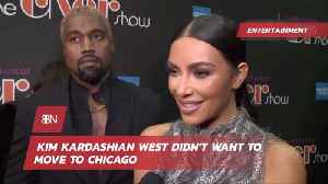 Kim K Was Not Moving Back To Chicago [Video]