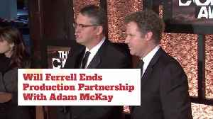 Will Ferrell Ends Partnership With Adam McKay [Video]